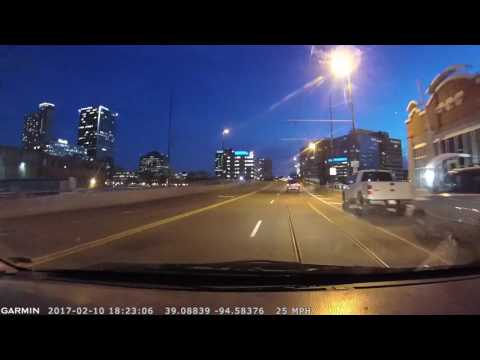 20170210 Friday Drivelapse Kansas City Metro Area