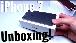 iPhone 7 Unboxing Matte Black! - 256GB!!!
