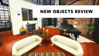 The Sims 4 City Living | Build/Buy Review (new items!)