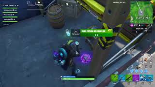 I discover the pass of fight season x a fortnite