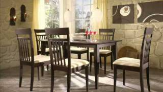 German Furniture Warehouse Collection High Noon Breakfast Nook