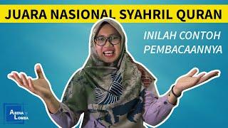 Contoh Syarhil Qur'an Juara Nasional