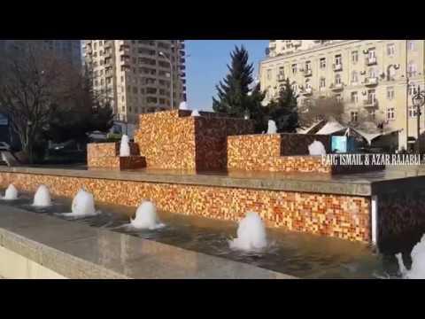 Баку маленький парк Наримана Нариманова на том же проспекте