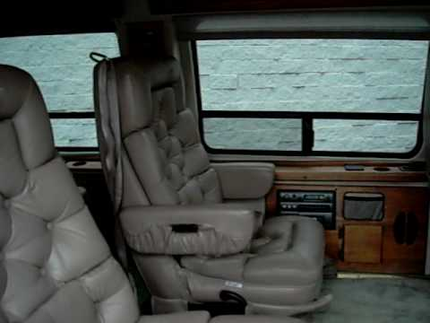 1997 FORD E150 HI TOP COVERSION VAN