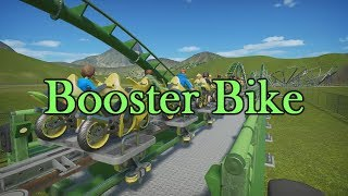 Planet Coaster - Booster Bike - Ride Overview