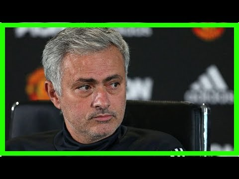 Breaking News Today Jose mourinho plays down return to chelsea with manchester united