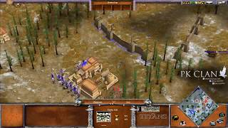 Age of Mythology: TOP EXPERTS Illuminaze Vs. Kimo | $50 Bo5 Commentated Game 1