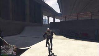 BMX stunts