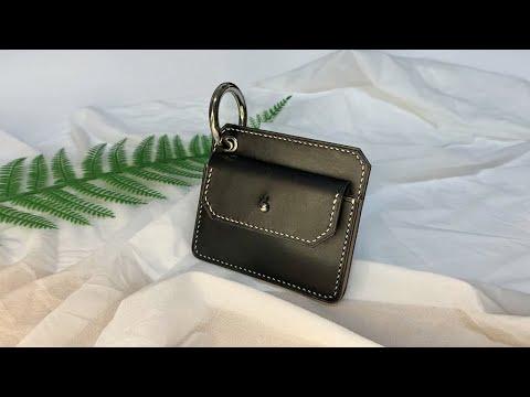 [가죽공예] 도꼬로 두께감 있는 카드지갑 만들기 / 무료패턴 / a card wallet with a thickness