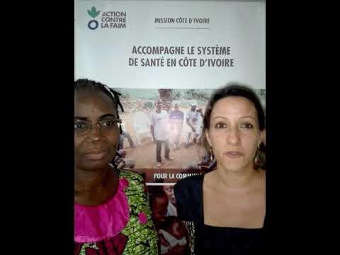l'ONG Action Contre la Faim (ACF) Côte d'Ivoire présente ses innovations