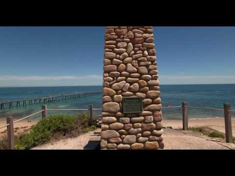 DFA 2017 Noarlunga Jetty, reef and cliffs viewed from seaward (compilation)