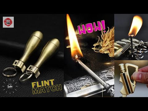 The Flint Match Keychain || Latest Video || Must Watch || 2020