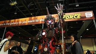Comic Con 2015 - Cosplay - Guyver Segment - كوميكون ٢٠١٥ - كوزبلاي - مقطع غايفر