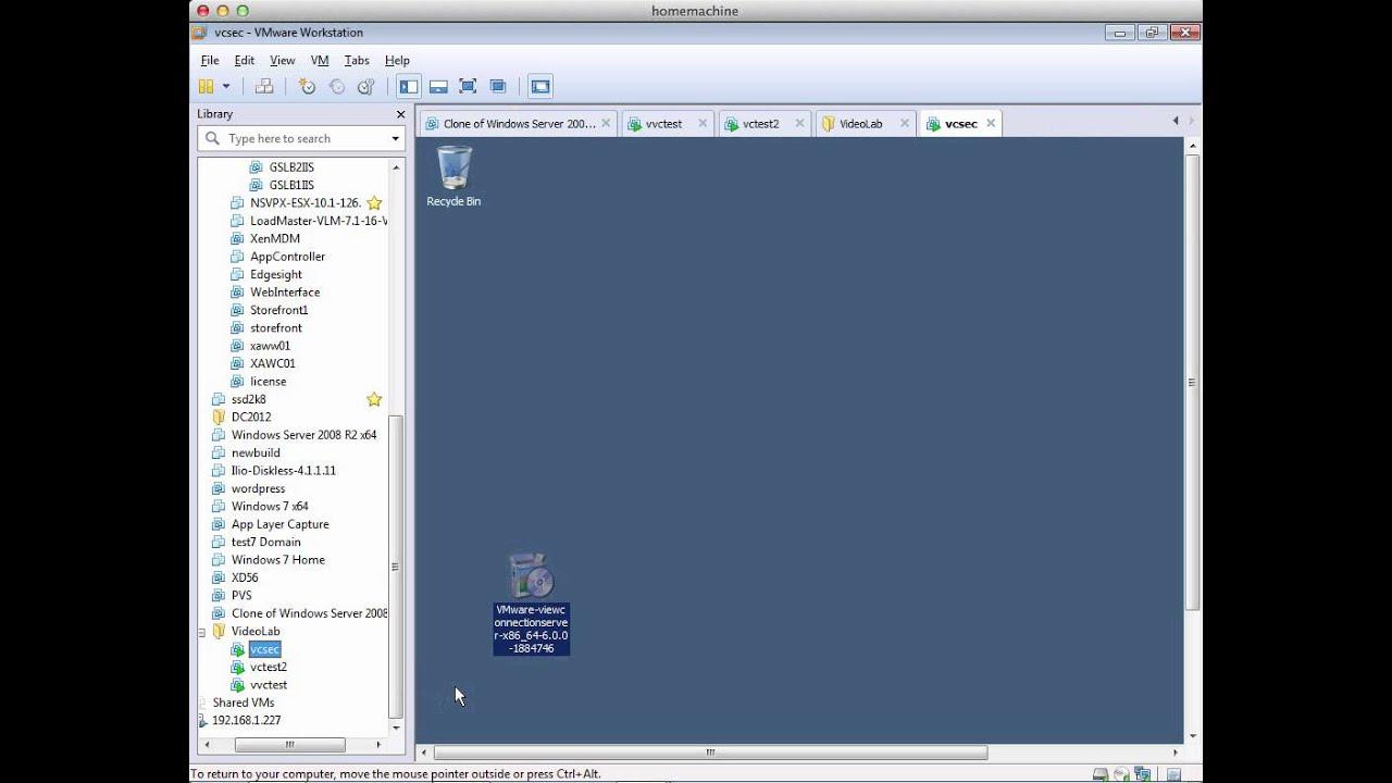 Installing A Vmware Horizon View 6 Security Server Youtube