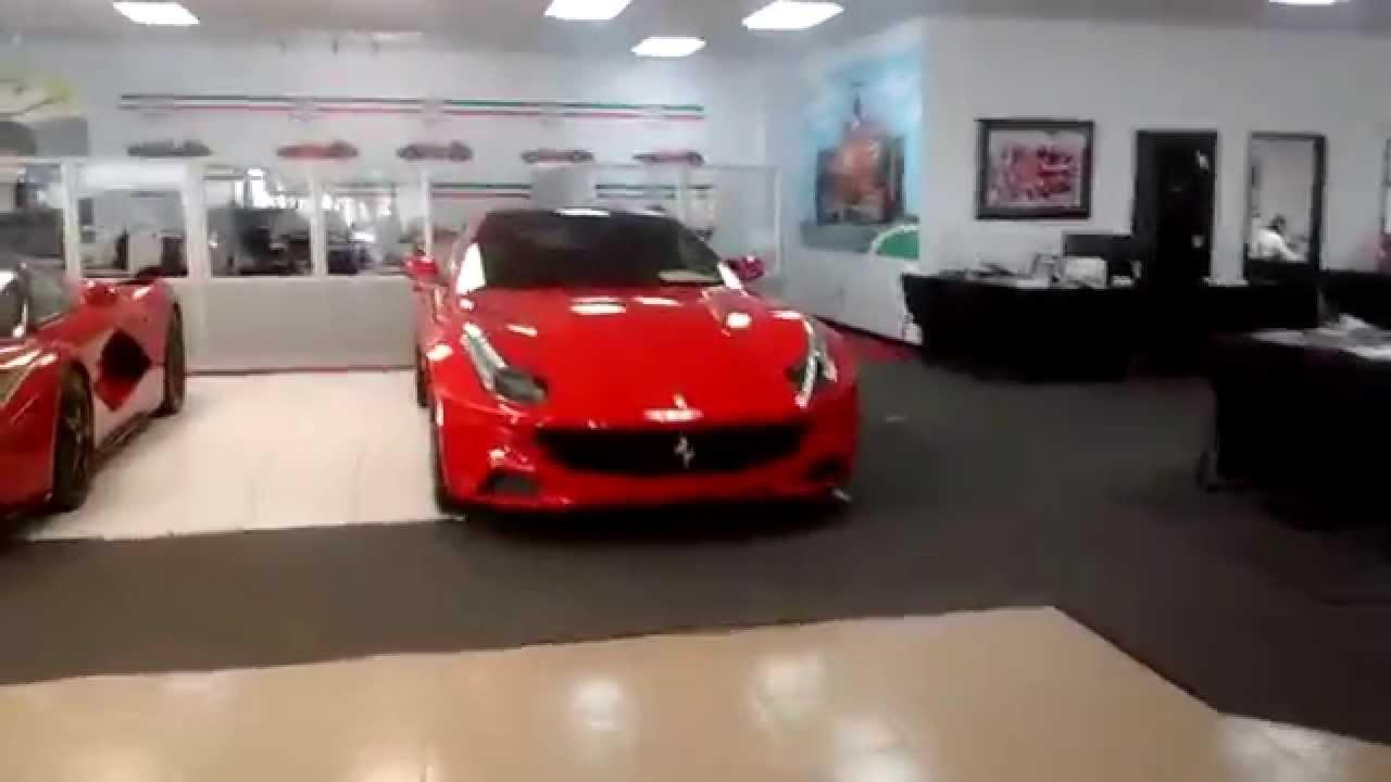 A Tour Of Ferrari Maserati Of Central Florida Youtube