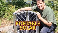 Best Portable Solar Power for Off Grid