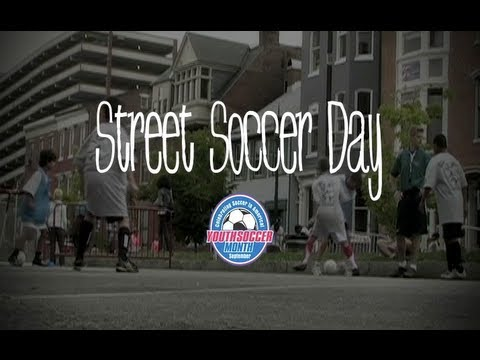 Youth Soccer Month - Street Soccer Day