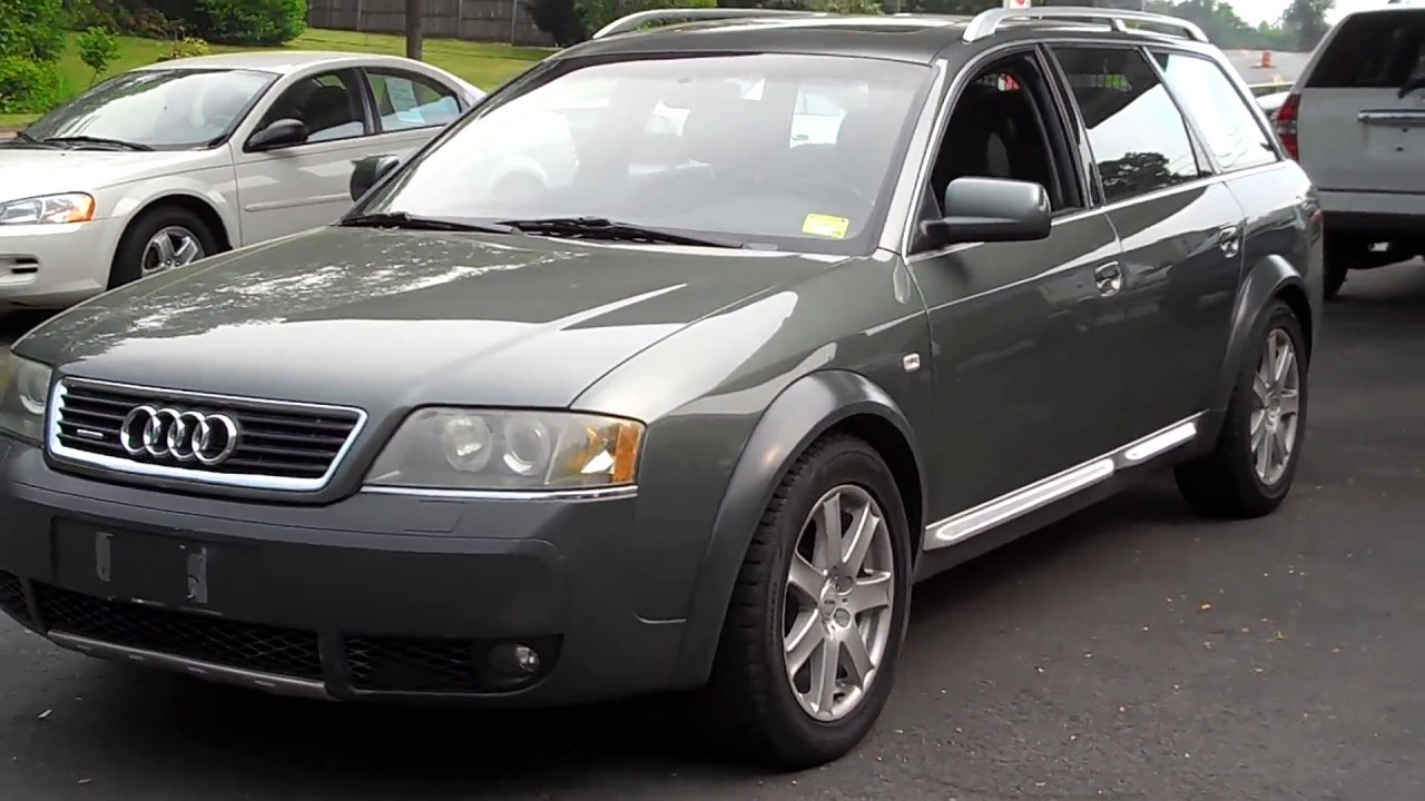 2001 audi a6 all road awd 2 7l twin turbo v6 wagon at youtube. Black Bedroom Furniture Sets. Home Design Ideas