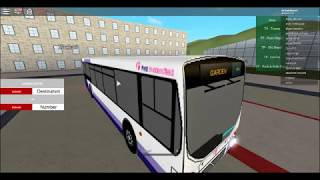 UK BUS simulator roblox route X11 and 11a to garden centre