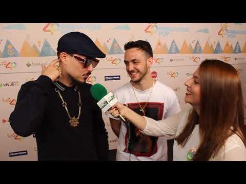 Entrevista a C. Tangana y Dellafuente (Primavera Pop)