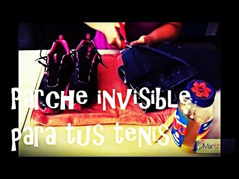 Parche invisible para tus tenis DIY