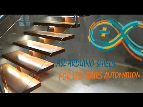 Подсветка Лестницы на Ардуино
