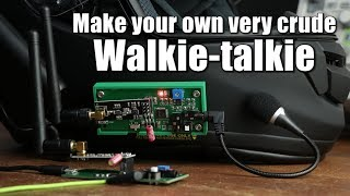 Make your own very crude Walkie-talkie with an Arduino
