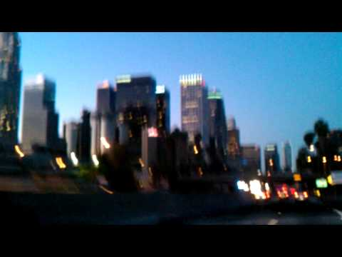 Driving in Los Angeles Playing: French Montana,Wiz khalifah,Nicki Minaj,Big Sean