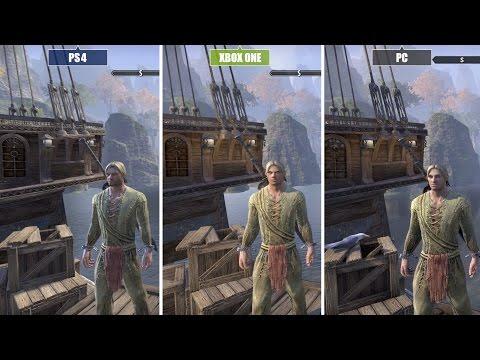 The Elder Scrolls Online   PC vs. Xbox One vs. PS4   Grafikvergleich