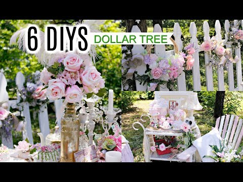 💖6 DIYS DOLLAR TREE Trash to Treasure/ GLAM CHIC BRIDAL DECOR 💖 Olivia's Romantic Home