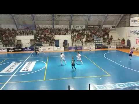 Passo Fundo Futsal 2 x 3 AFF - Gol do Kiko