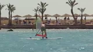 Египет Хургада уроки серфинга | Egypt Hurghada surfing lessons | Hilton Hurghada Resort 5