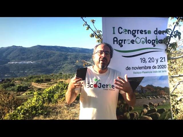 Presentación del I Congreso de Agroecología de Extremadura