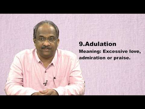 Words Related To Love,affection,admiration||Learning English Vocabulary||