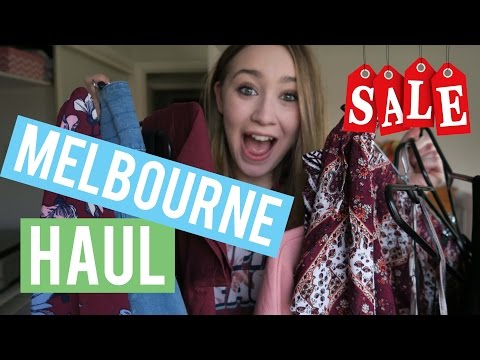 SO MANY DISCOUNTS!! | Melbourne Shopping Spree HAUL