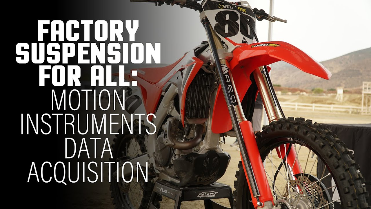 MX Tech: Suspension Data Acquisition