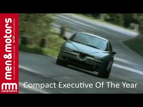 1998 Compact Executive Car Of The Year: Alfa Romeo 156