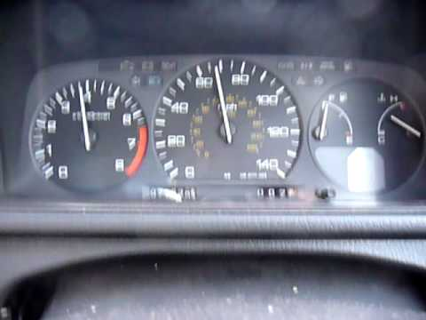 Honda Prelude 1990 20i 4ws On Test Track Youtube