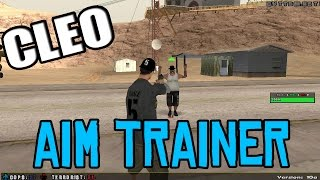 [CLEO] Aim TRAINING - Learn  Aiming properly in SA-MP