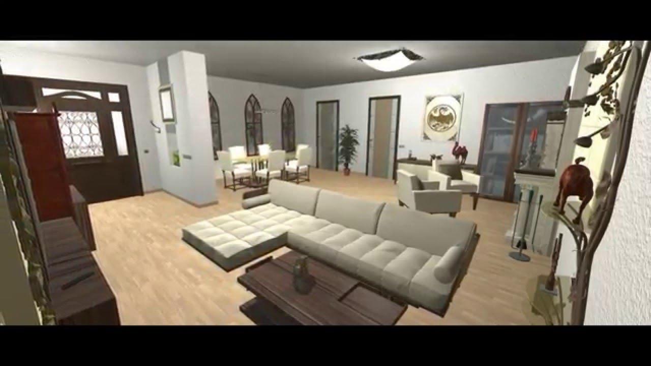 Diseñando interiores en Unity 3D - YouTube