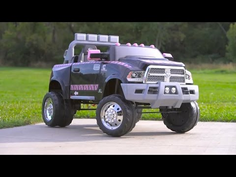 Mossy Oak Ram 3500 Dually Longhorn Edition from KidTrax