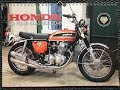 Honda CB Four Kalender 2018 sohc K0 K1 K2 K6 F1 F2