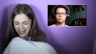 REACTING TO SCARY VIDEOS | Baby Ariel