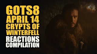 CRYPTS OF WINTERFELL Reactions Compilation