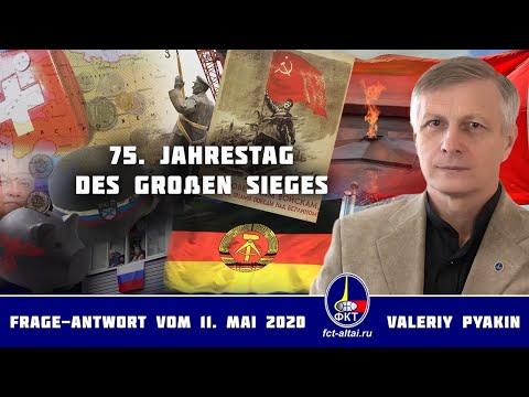 75.  Jahrestag des Sieges der Sowjetunion/ der 2. Weltkrieg  (Valeriy Pyakin 11.5.2020)