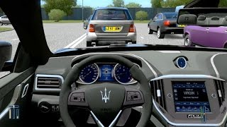 City Car Driving - Maserati Ghibli + DOWNLOAD LINK!