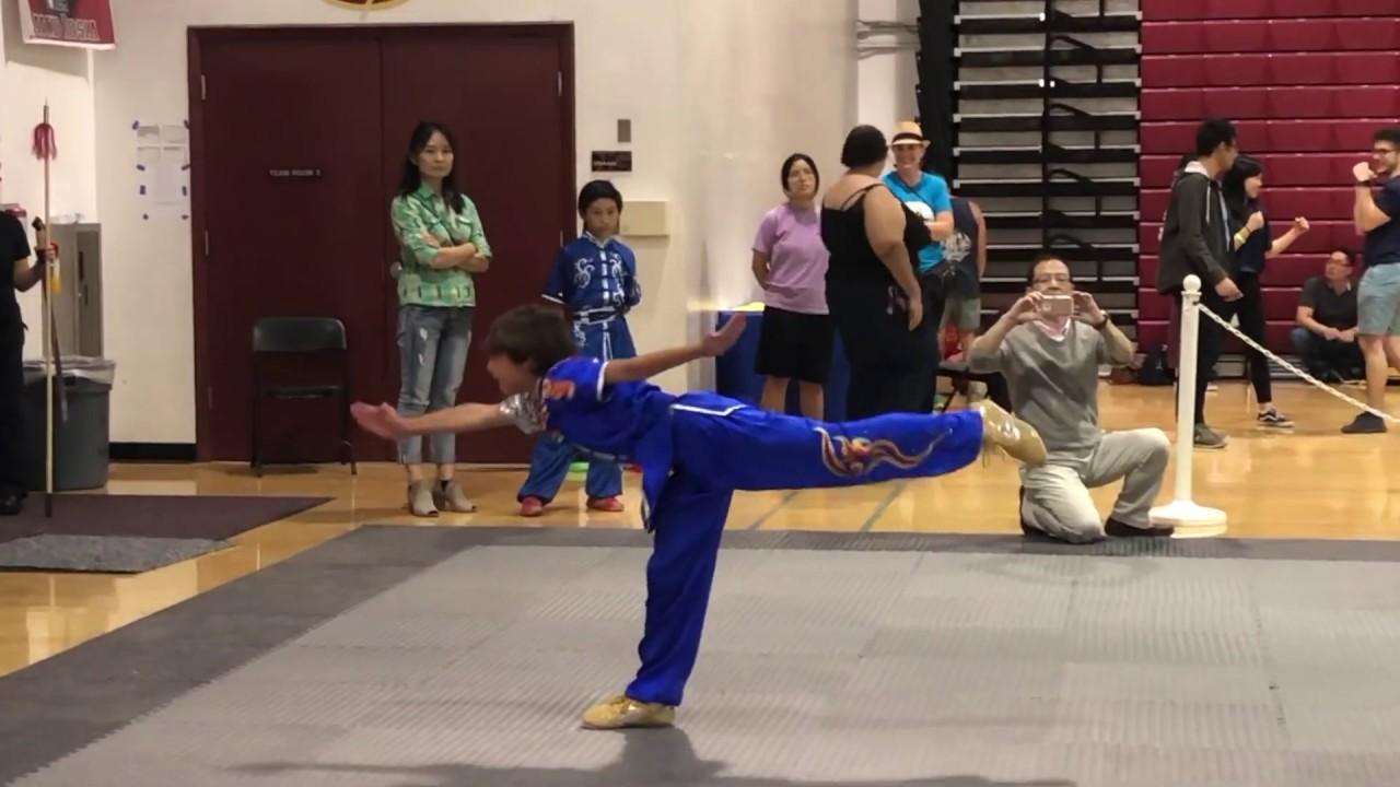 Wushu long fist