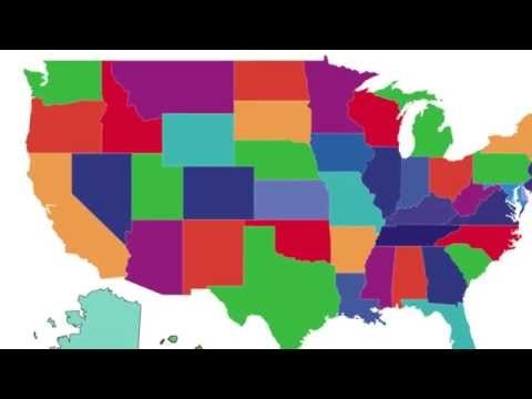 Learn the 50 States Song