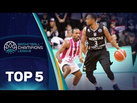 Top 5 Plays - Wednesday - Gameday 6 - Basketball Champions League 2017-18