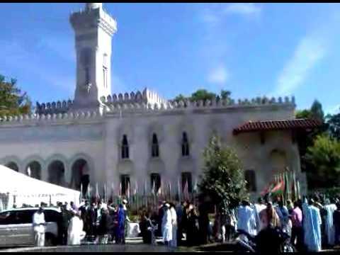 صلاة العيد في أمريكا Eid prayer in America